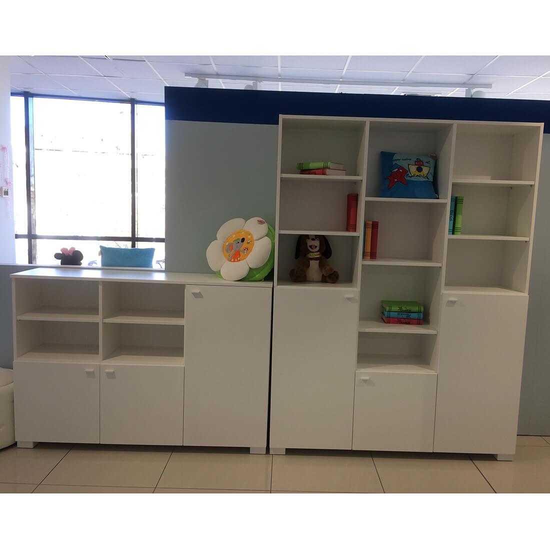 Младежки мебели Uni White - сет 3 части - мостра