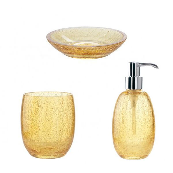 Комплект за баня Cracle, от Stilhaus - мостра