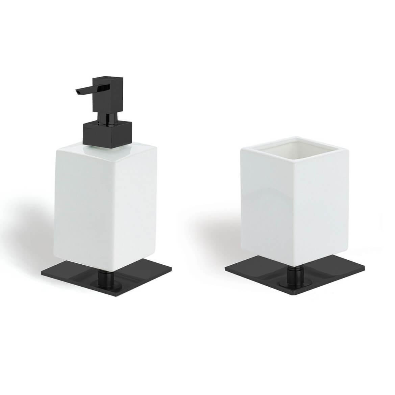 Комплект за баня Cube 2, от Stilhaus - мостра