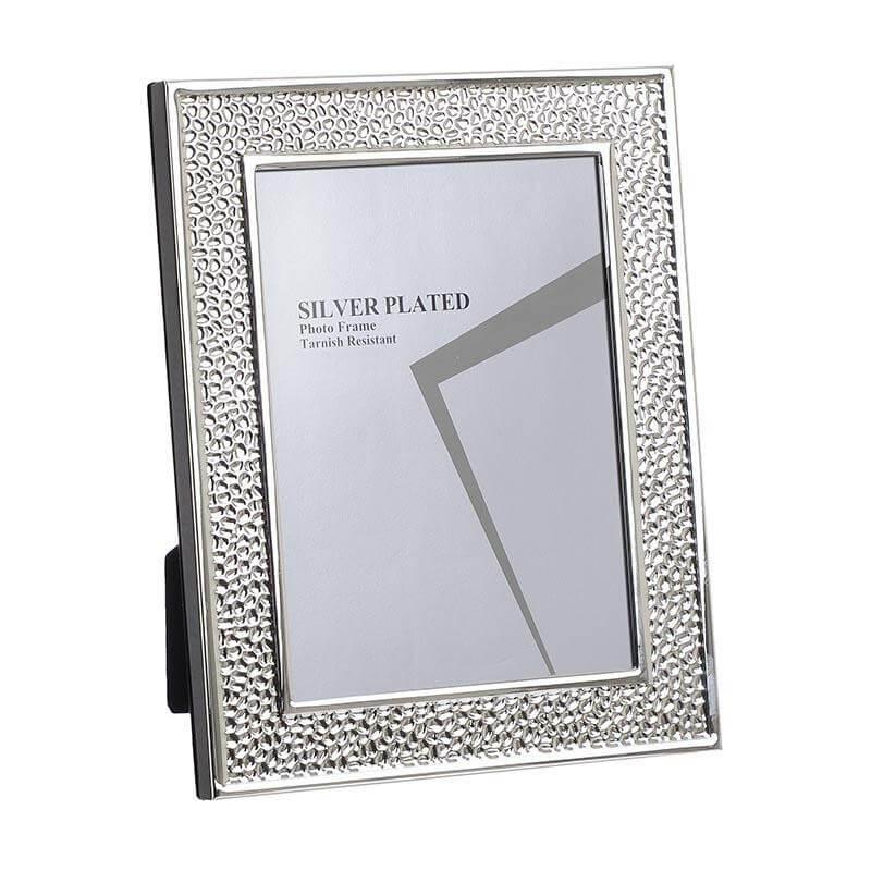 Метална рамка -  сребро - мостра