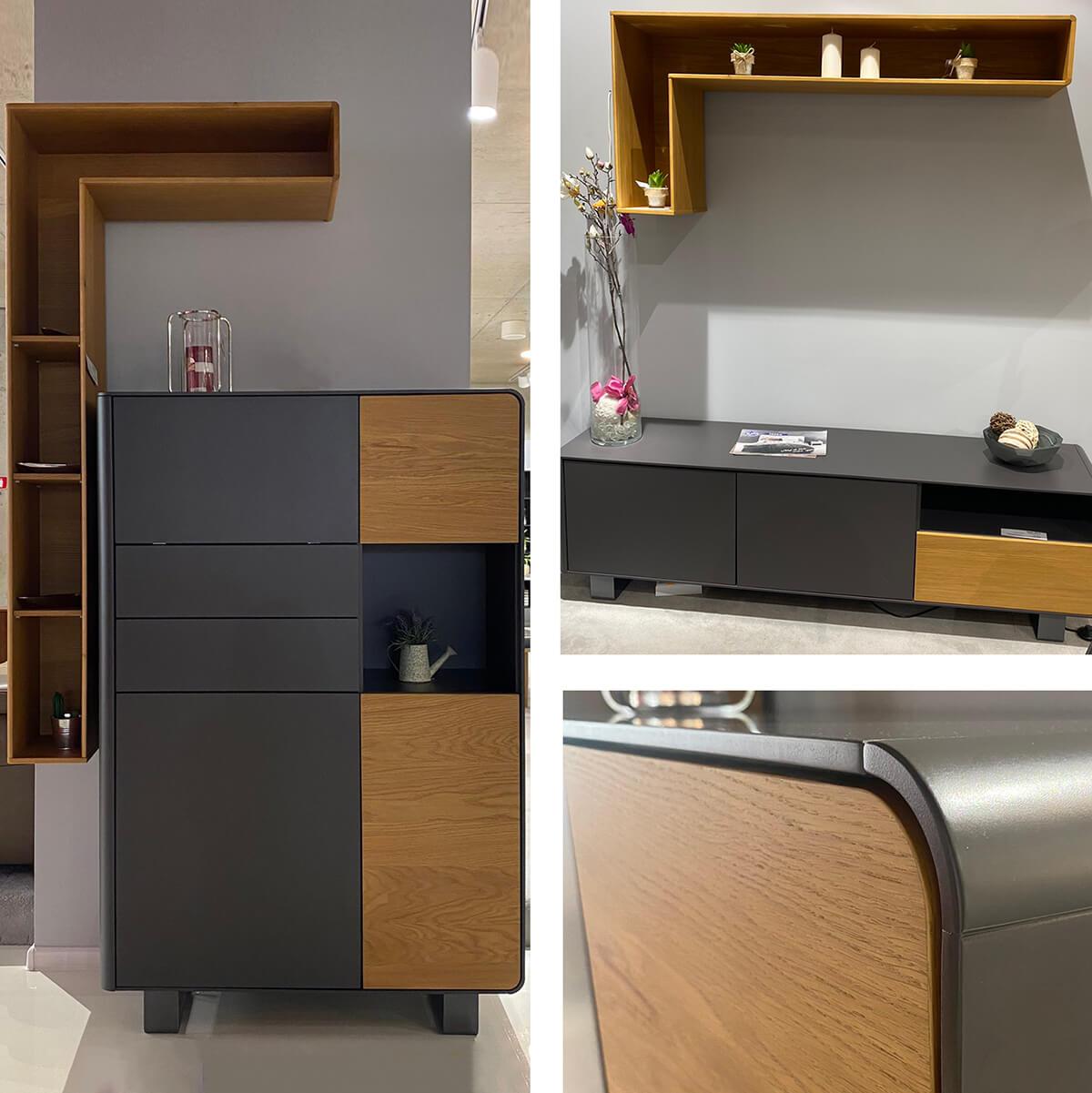 Комплект шкафове за всекидневна, колекция K-37 - мостра