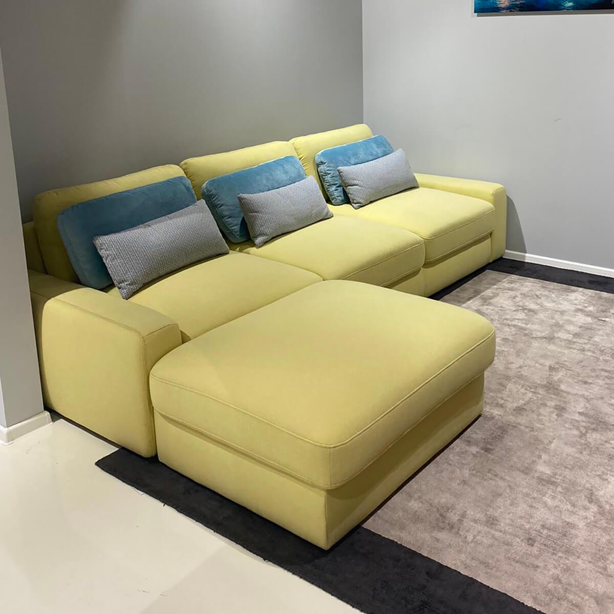 Разтегателен ъглов диван с ракла Serena - мостра