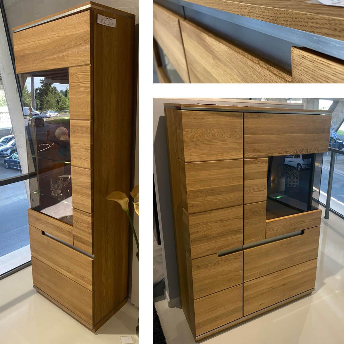 Комплект витринни шкафове Torino – мостра