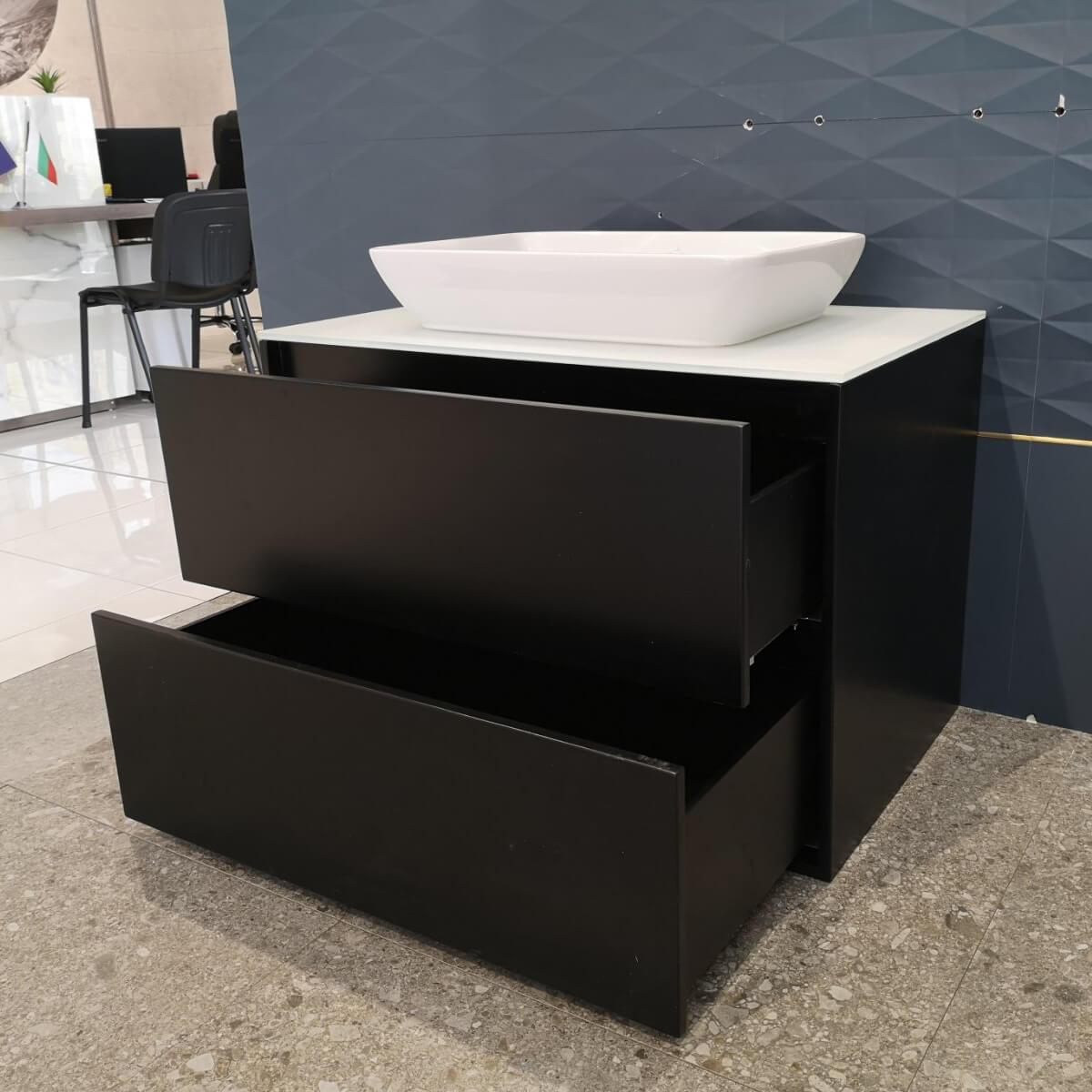 Шкаф за баня с плот и мивка - мостра