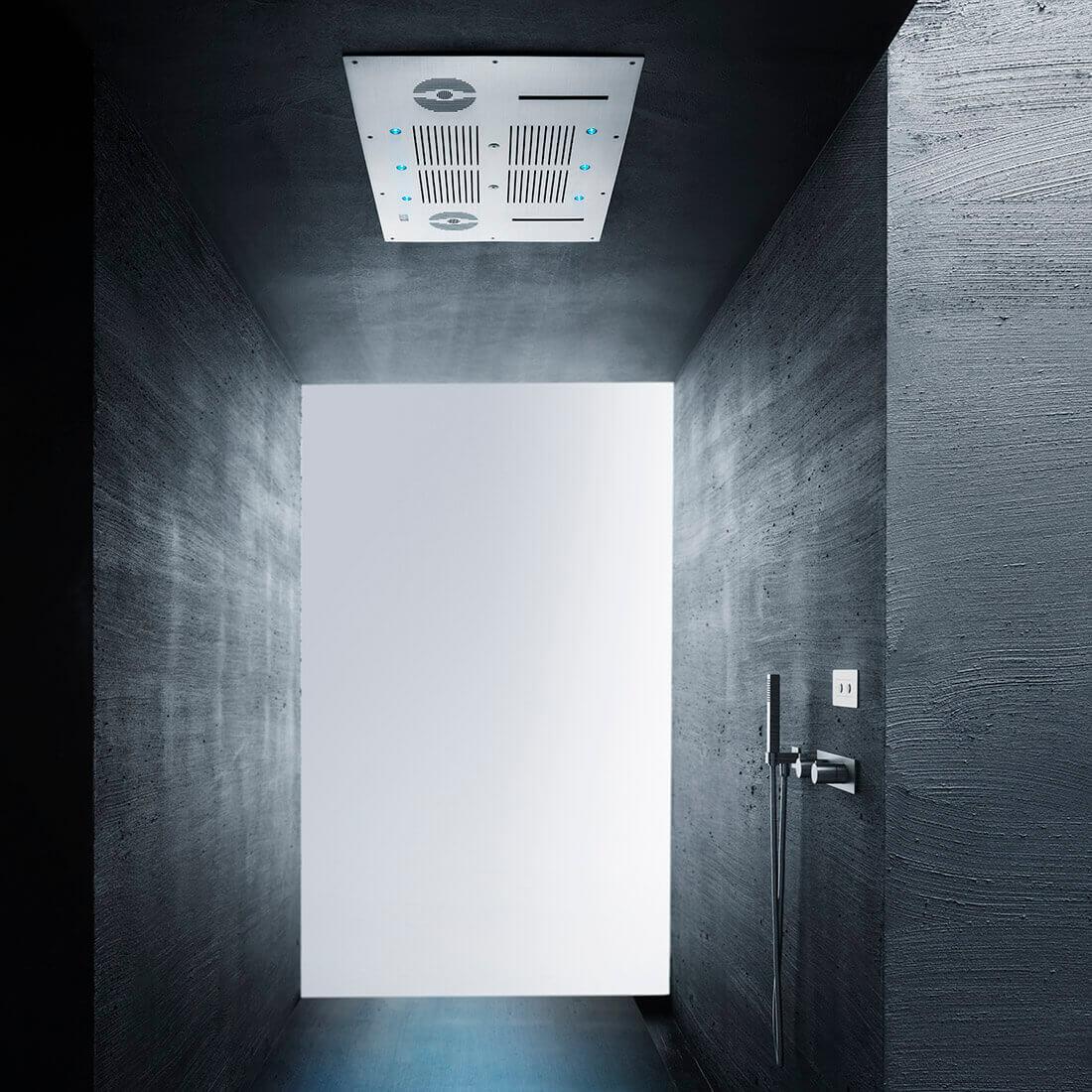 Комплект душ пита, смесител и ръчен душ Aqua Blue Sound, от AquaElite - мостра