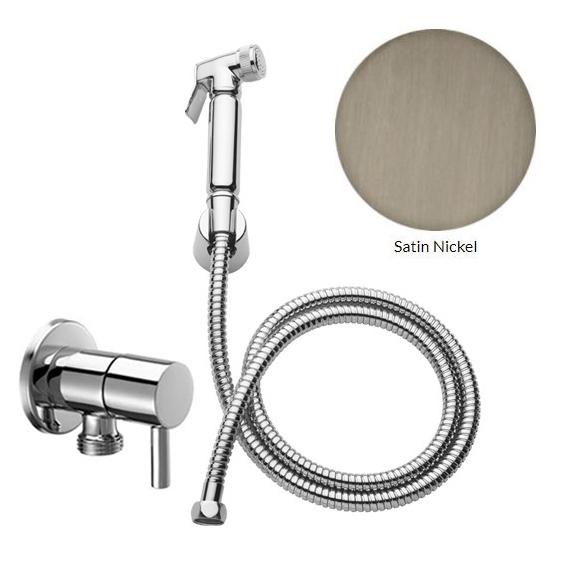 Хигиенен душ комплект - Effepi 290 - никел/сатен - мостра