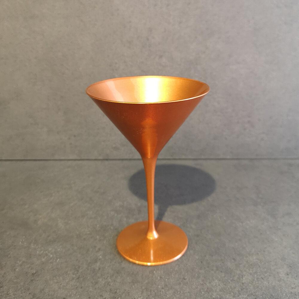 Комплект чаши за мартини, медни - мостра
