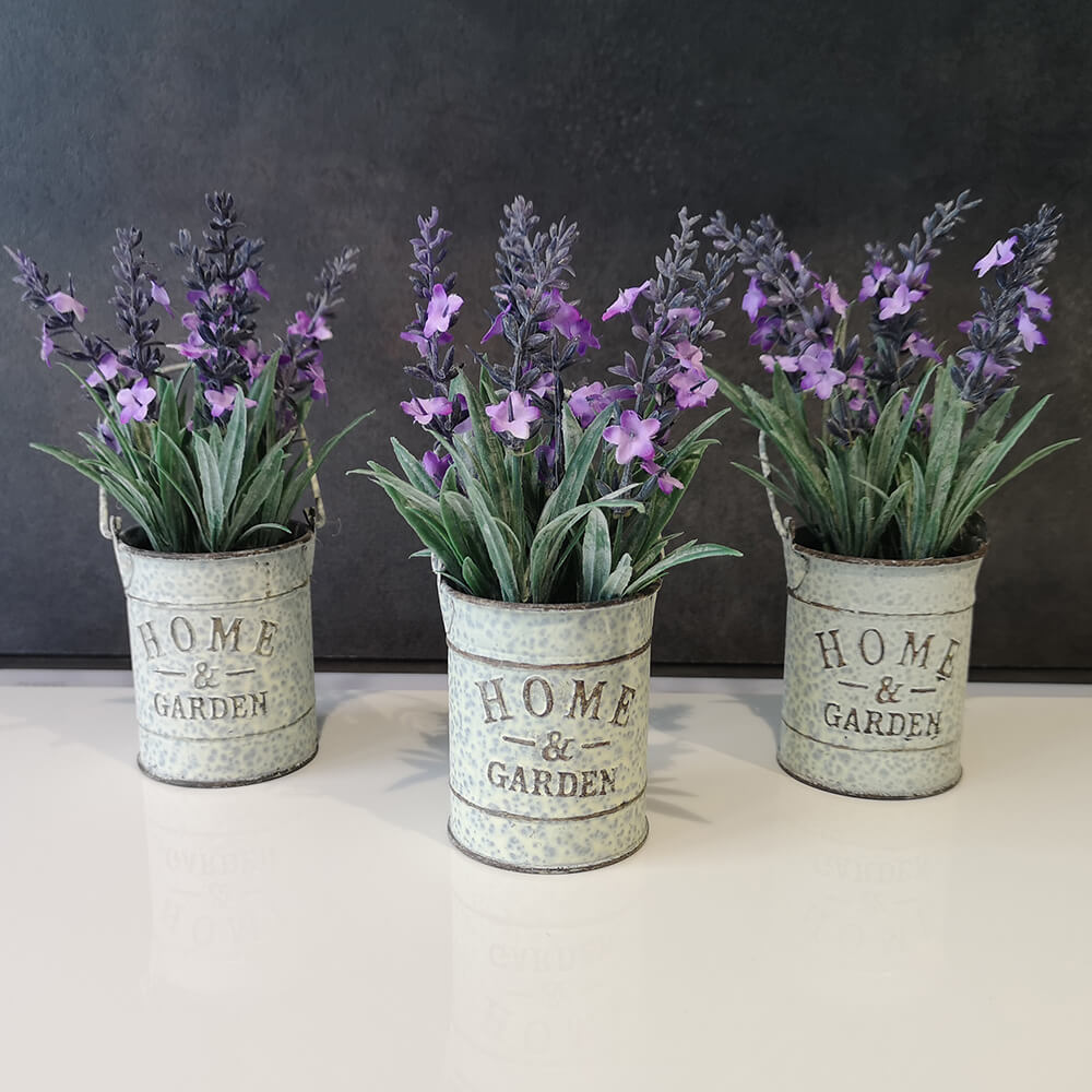 Декоративни цветя с кофичка - мостра