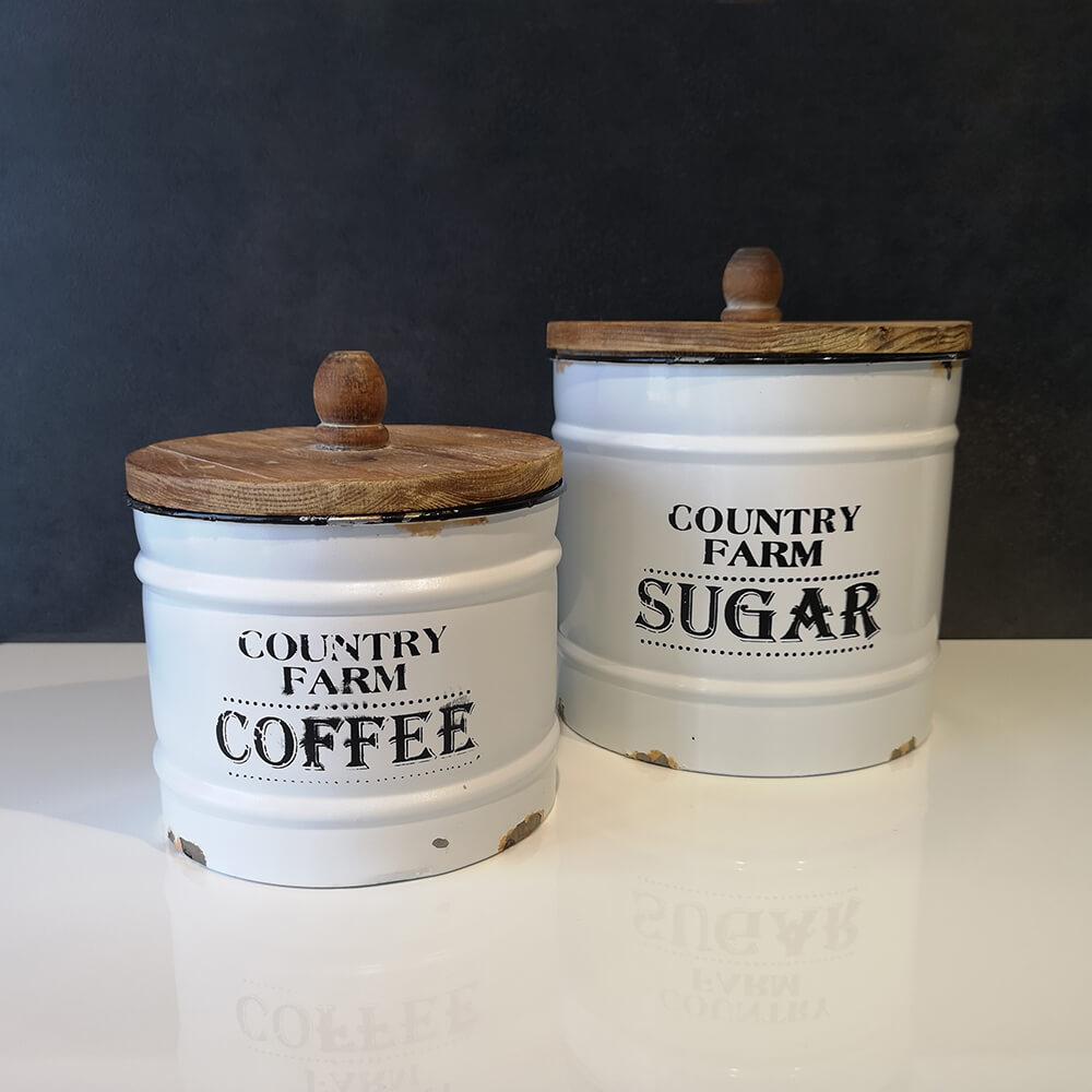 Кутии за кафе и захар - мостра