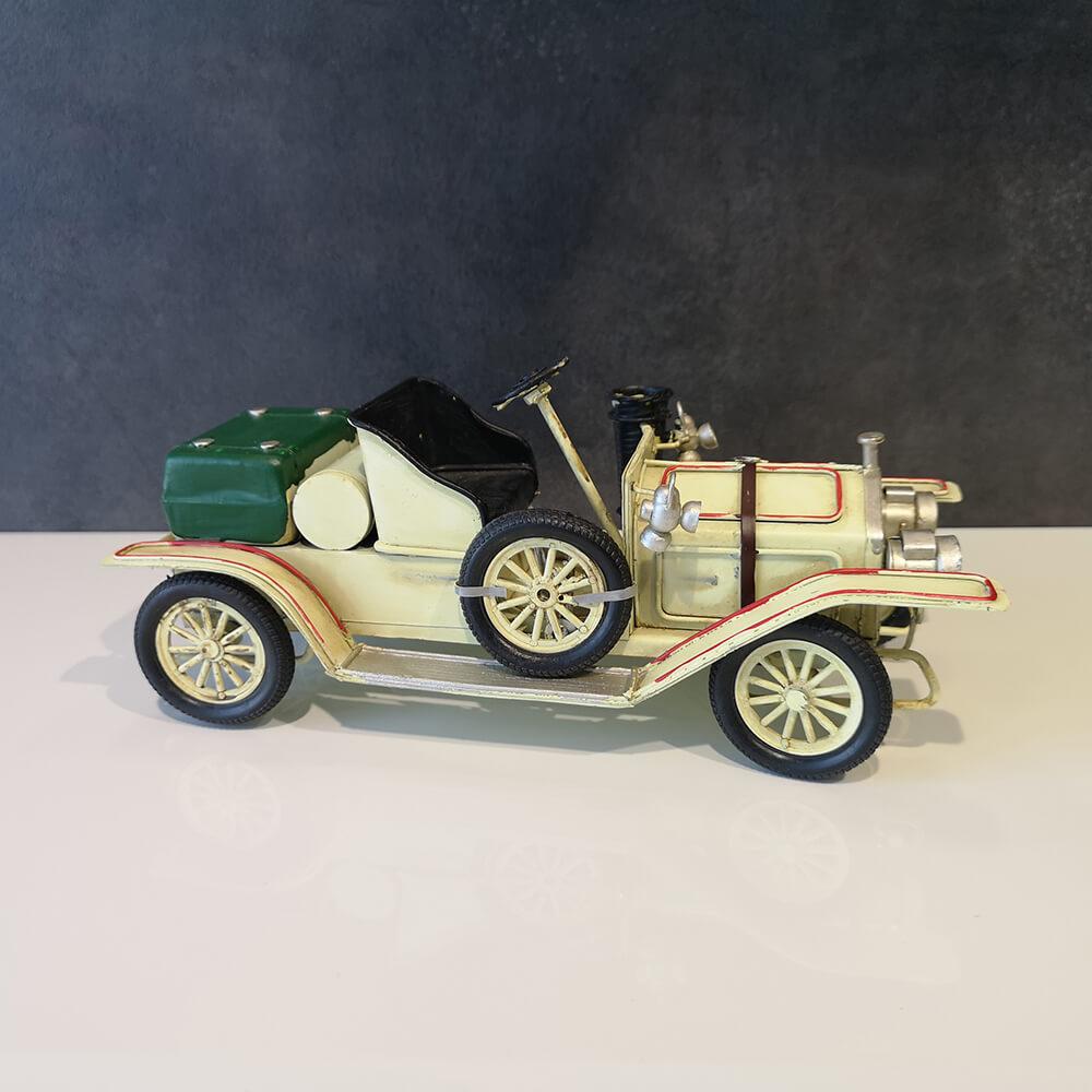 Декоративна кола, бяла - мостра