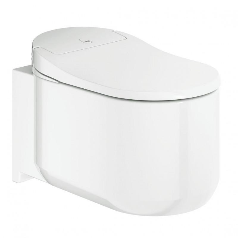 Окачена тоалетна чиния с вградено биде  Grohe Sensi Arena Shower – мостра