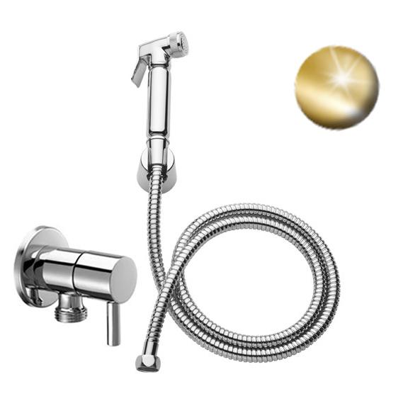 Хигиенен душ комплект - Effepi 290 - златен