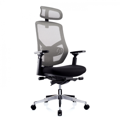 Ергономичен офис стол 1000 HL, сив