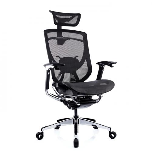 Ергономичен офис стол Ergo Lux, черен