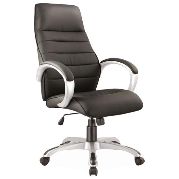 Офис стол, черен Q-046