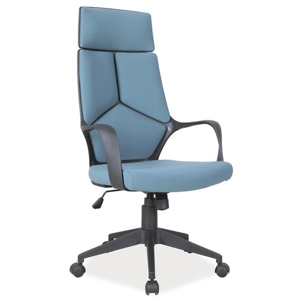 Офис стол, син Q-199