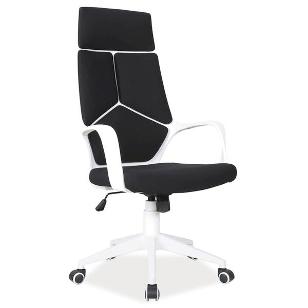 Офис стол, бял Q-199