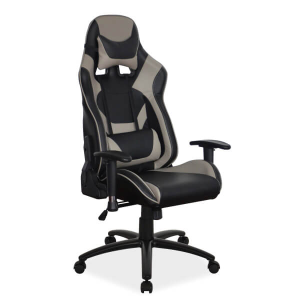Геймърски стол, сив Supra