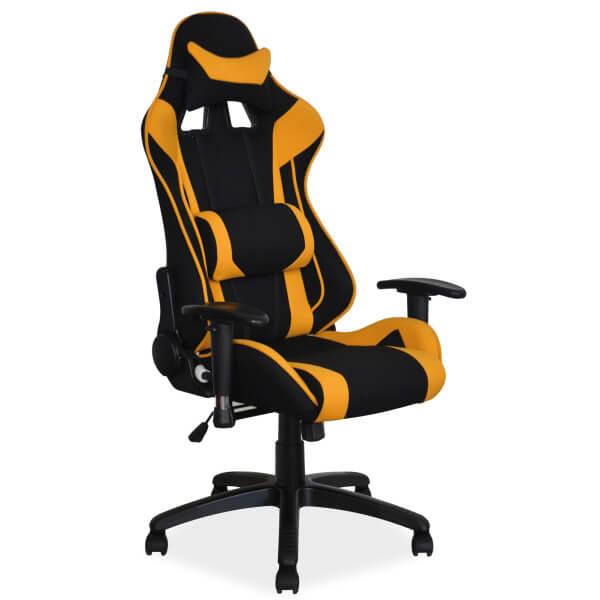 Геймърски стол, жълт Viper
