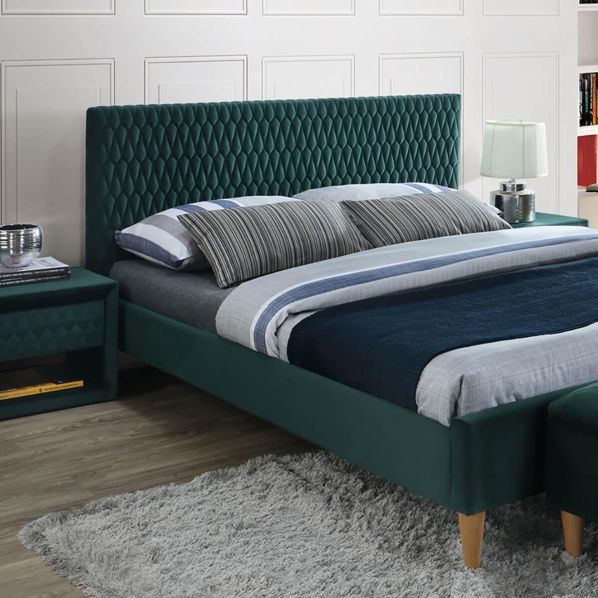 Тапицирано легло Azurro 160 Velvet