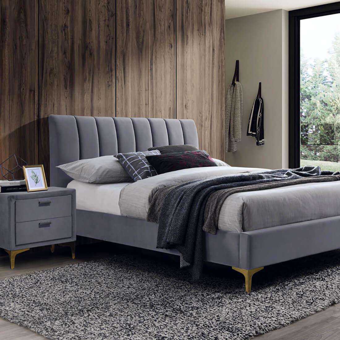 Тапицирано легло Mirage Velvet