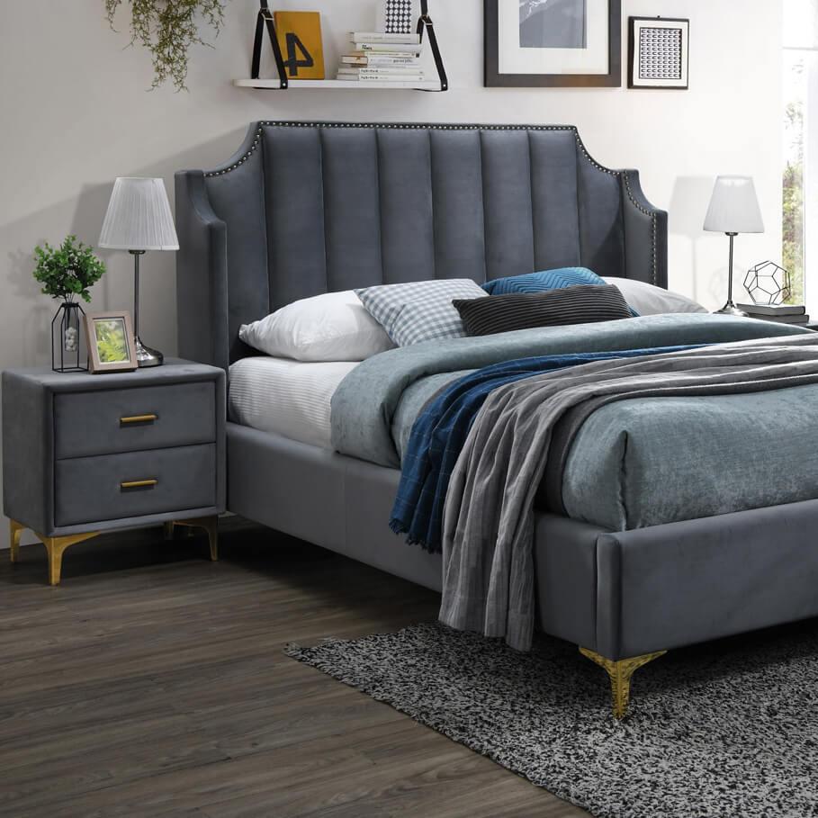 Тапицирано легло Monako 160 Velvet