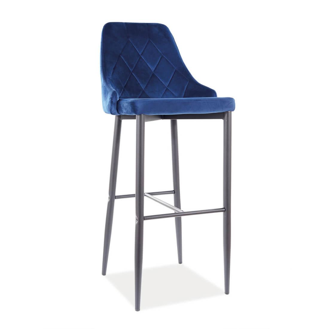 Бар стол Trix B Velvet H-1