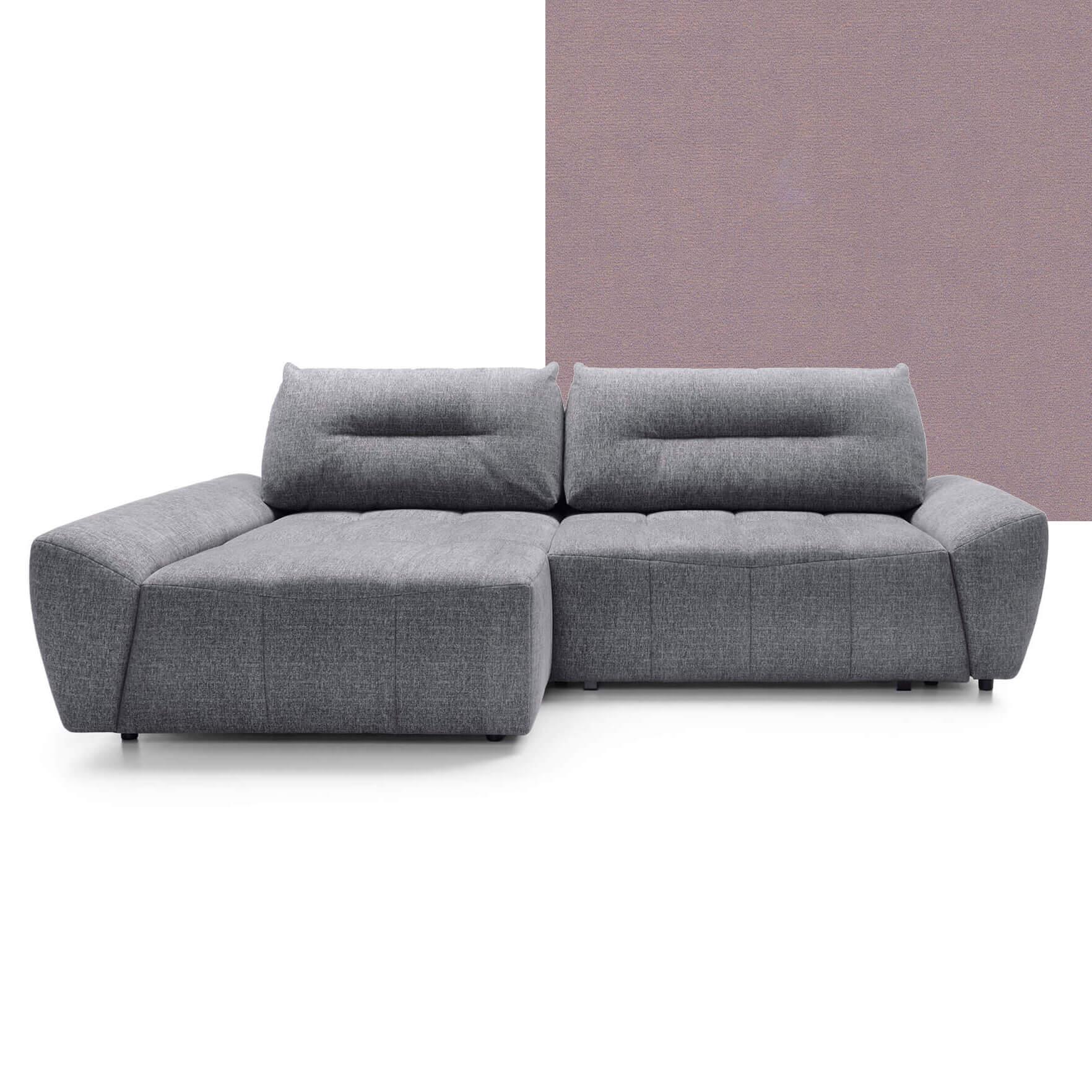 Ъглов диван Ted - тапицерия Rivera 62 - десен