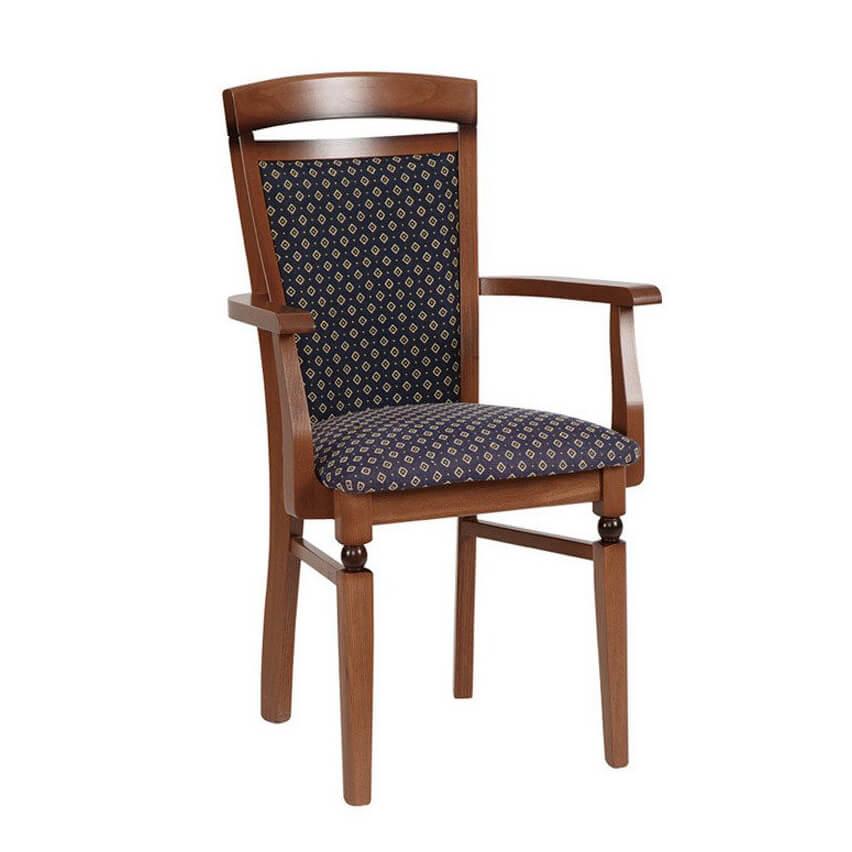 Трапезен стол с подлакътници, колекция Bawaria