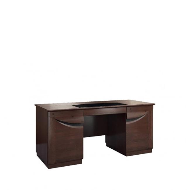 Бюро с две шкафчета и чекмедже, колекция Bari