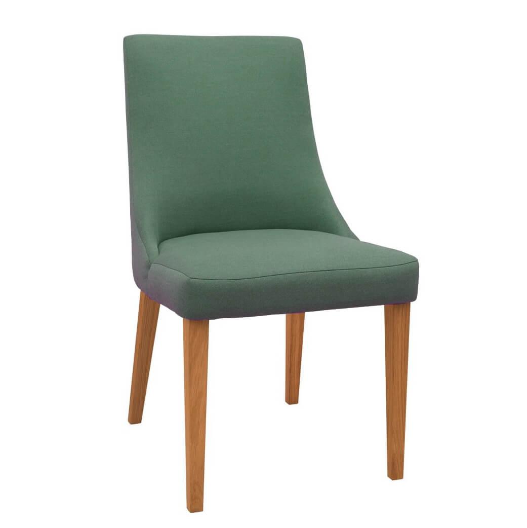 Трапезен стол Karina, цвят Piano 09 с дъб мед