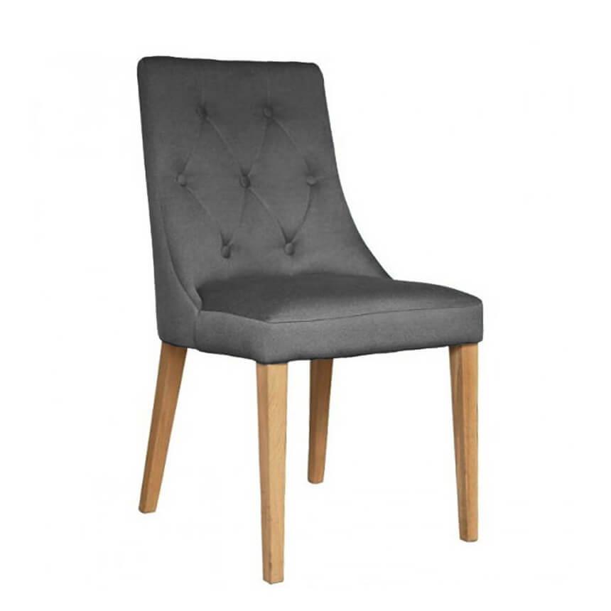 Трапезен стол Marcel, цвят Carabu 110 с дъб мед