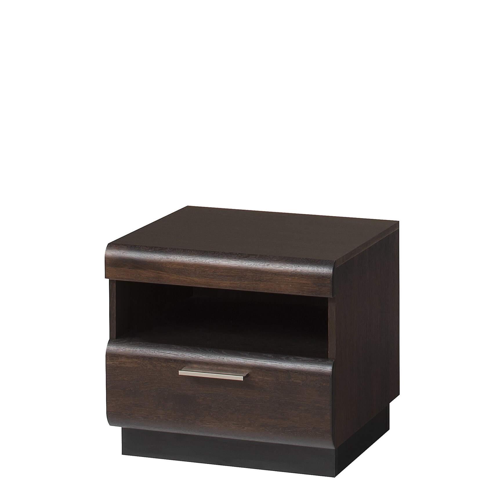 Нощно шкафче, колекция Porti Black