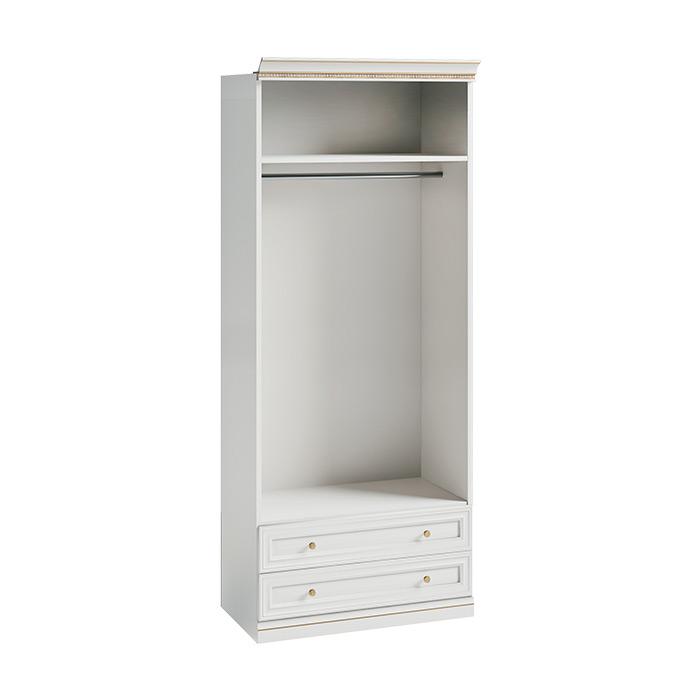 Открит гардероб с чекмеджета, гардеробна Verona