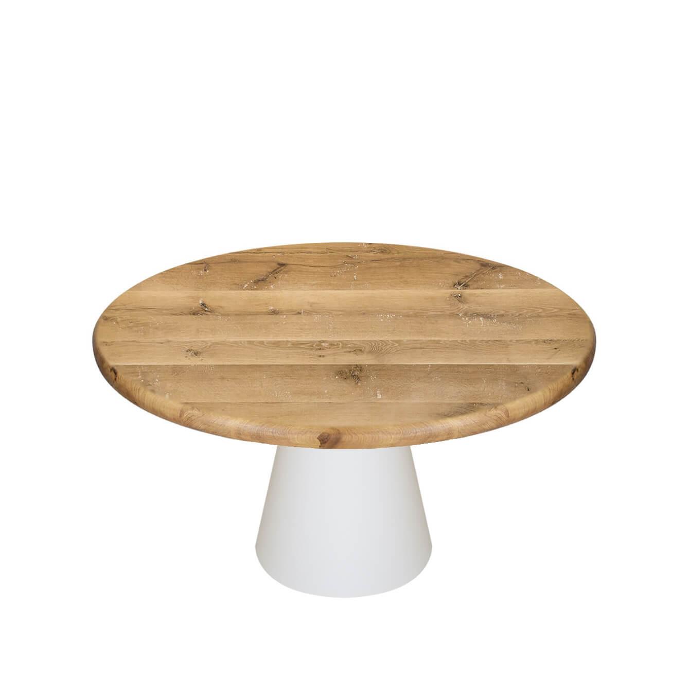 Трапезна маса с масивен плот Icon
