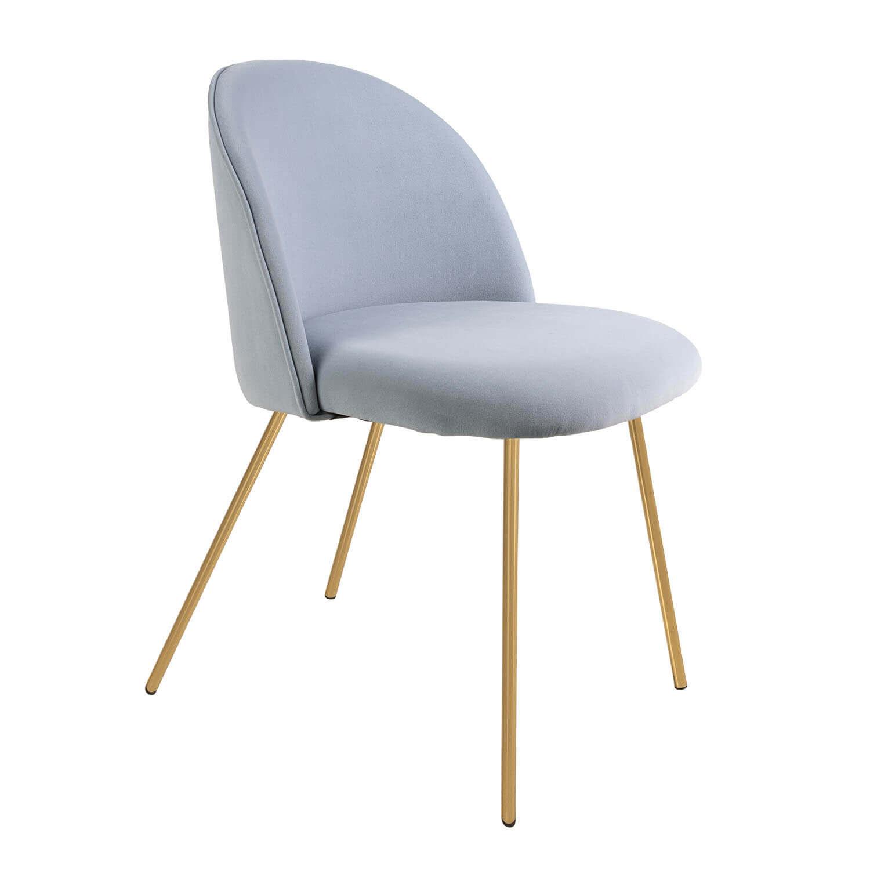 Joy, blue dining chair