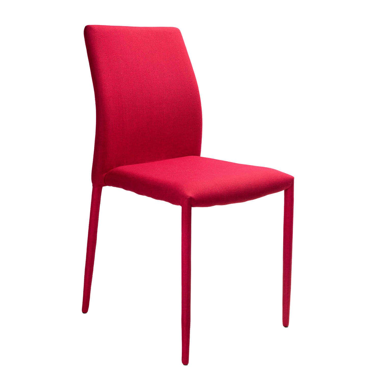 Трапезен стол Mickey, червен