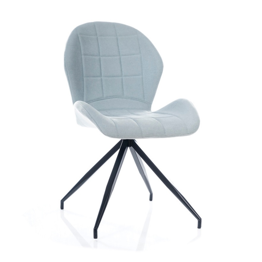 Spider, mint dining chair