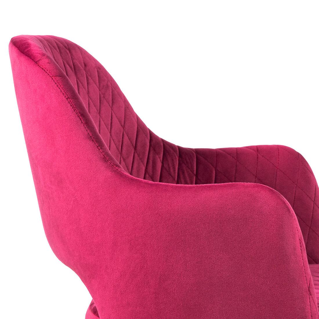 Трапезен стол Daisy, червен