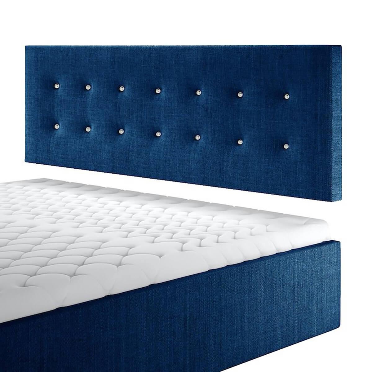 Нисък стенен панел за тапицирано легло, модел ZPN-001