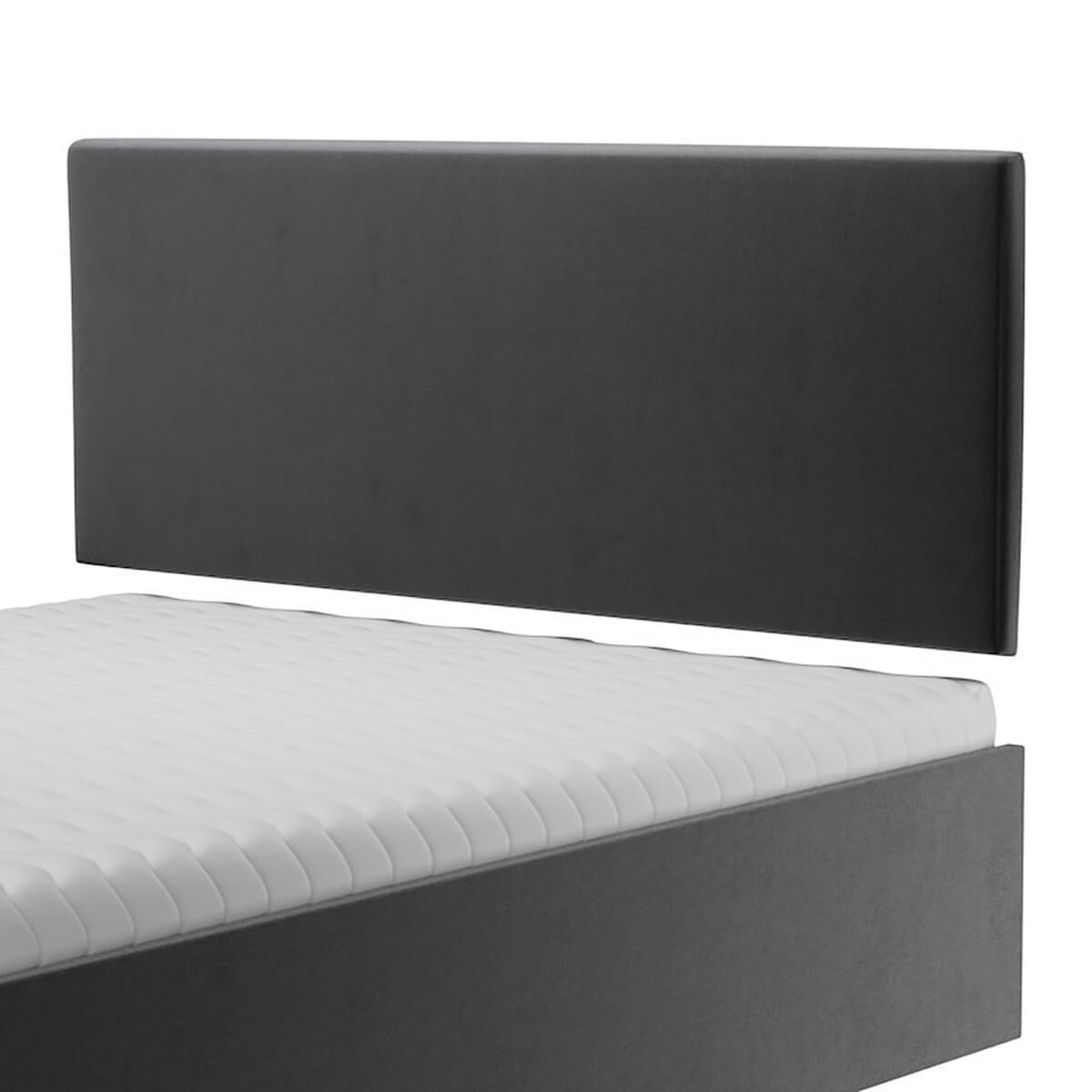 Нисък стенен панел за тапицирано легло, модел ZPN-006