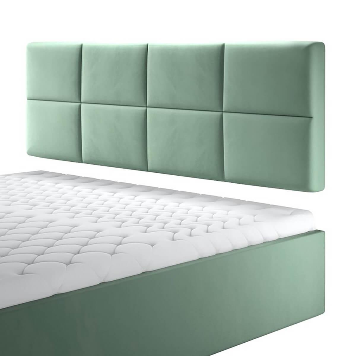 Нисък стенен панел за тапицирано легло, модел ZPN-022