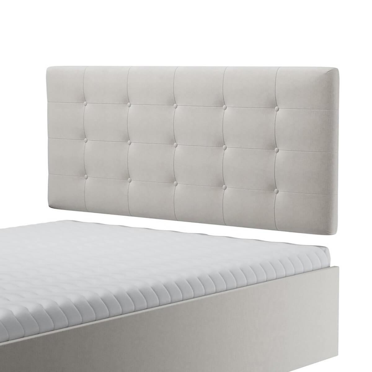 Нисък стенен панел за тапицирано легло, модел ZPN-025