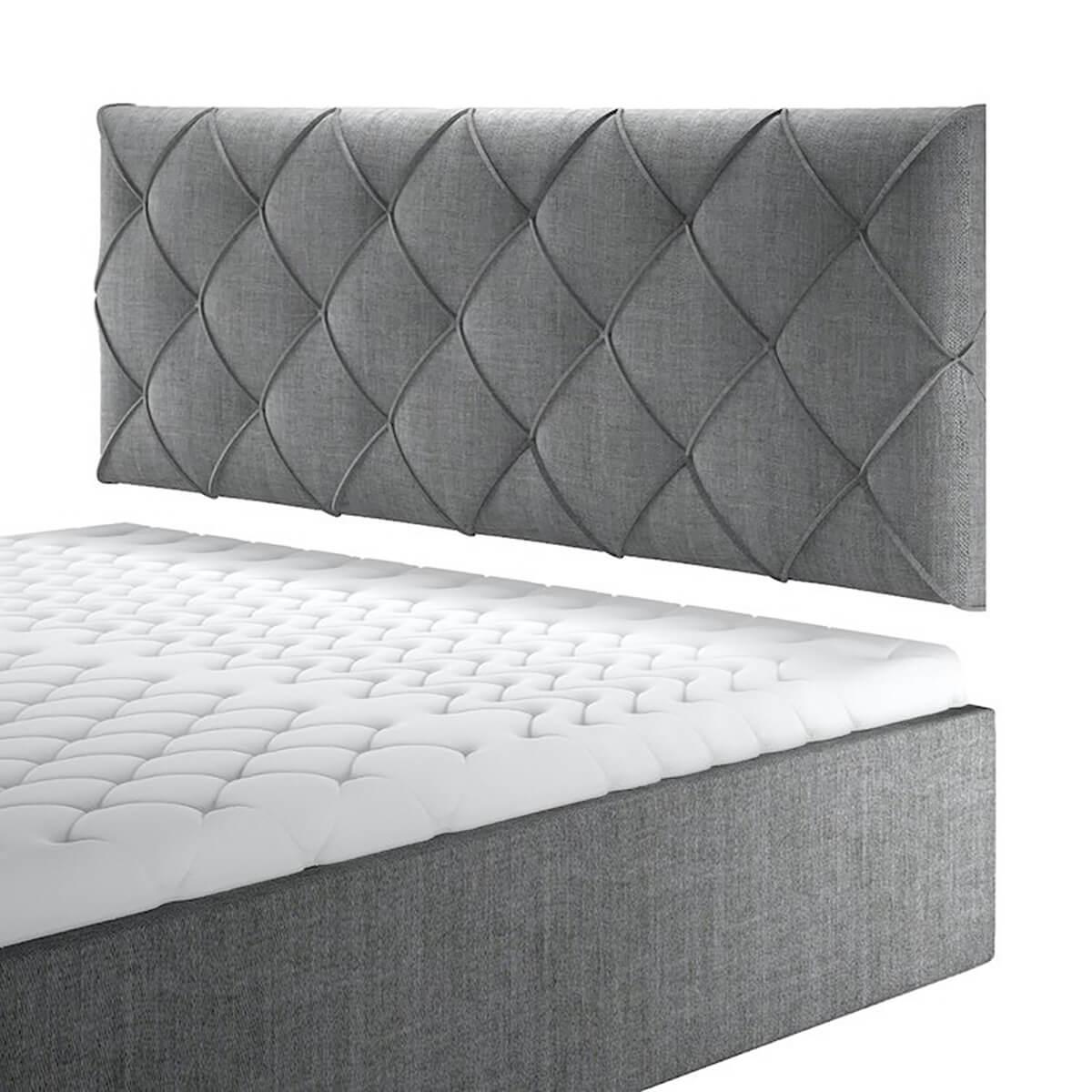 Нисък стенен панел за тапицирано легло, модел ZPN-028