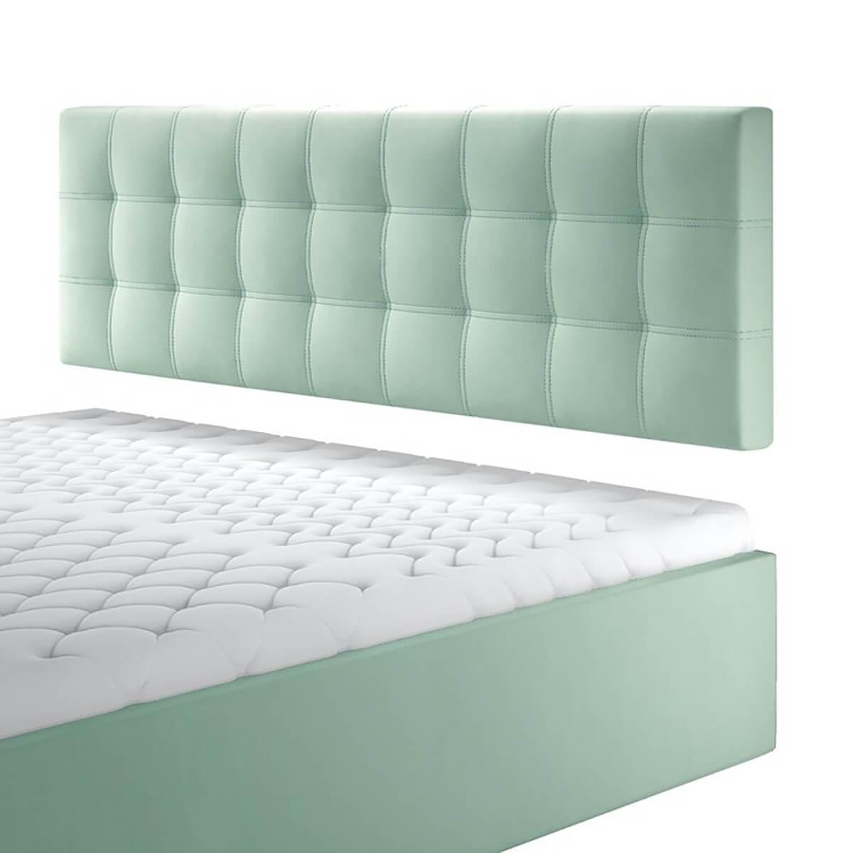 Нисък стенен панел за тапицирано легло, модел ZPN-040