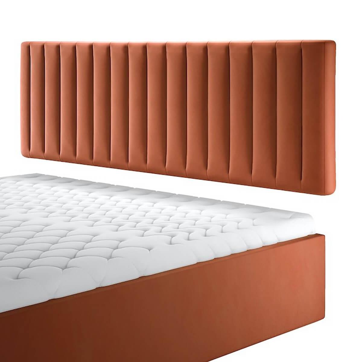 Нисък стенен панел за тапицирано легло, модел ZPN-058