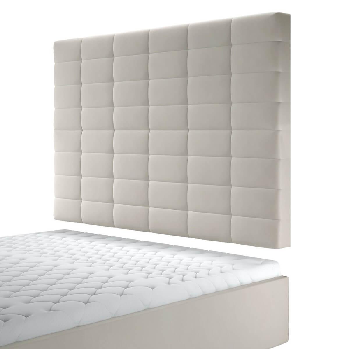 Висок стенен панел за тапицирано легло, модел ZPW-031