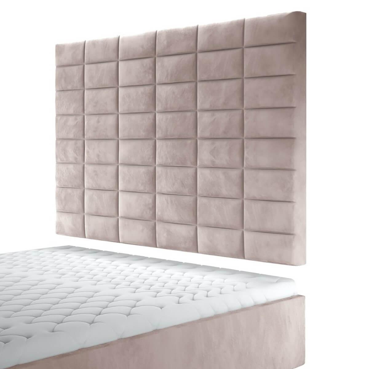 Висок стенен панел за тапицирано легло, модел ZPW-050