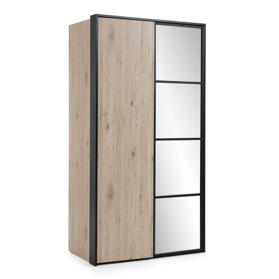 Двукрилен гардероб, колекция Glass Loft