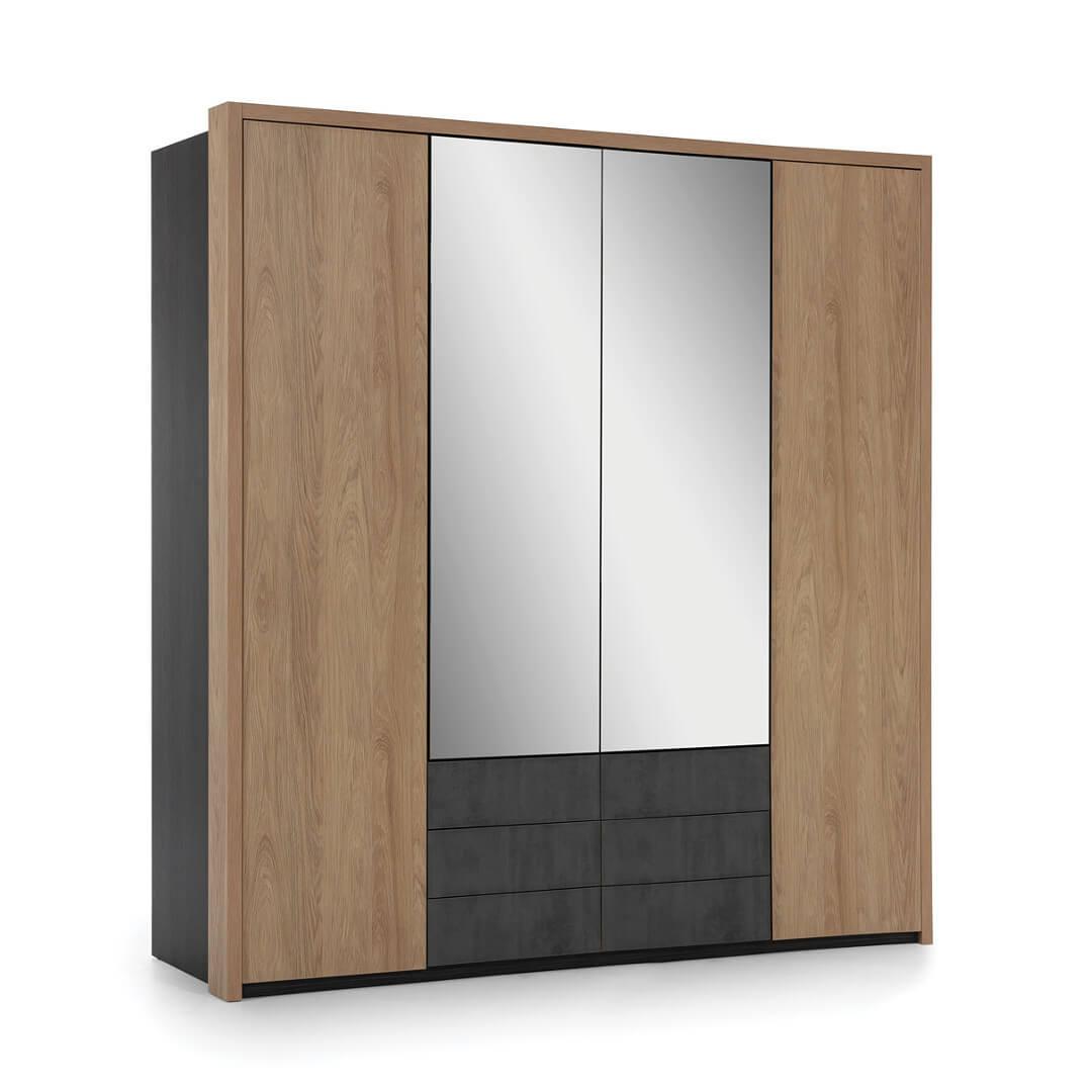 Четирикрилен гардероб, колекция Multydecor